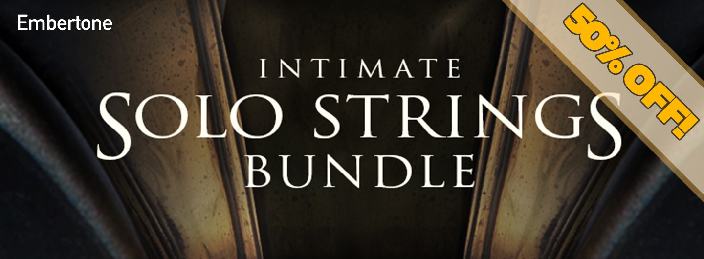 embertone intimate solo strings deal