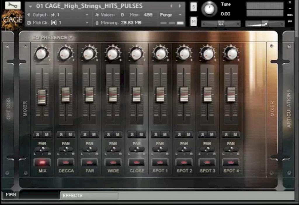 8dio cage bundle mixer