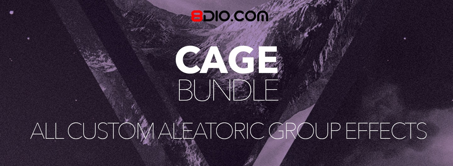 8dio cage bundle custom aleatoric group effects
