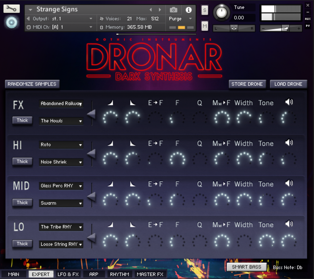 Dronar Dark Synthesis Expert