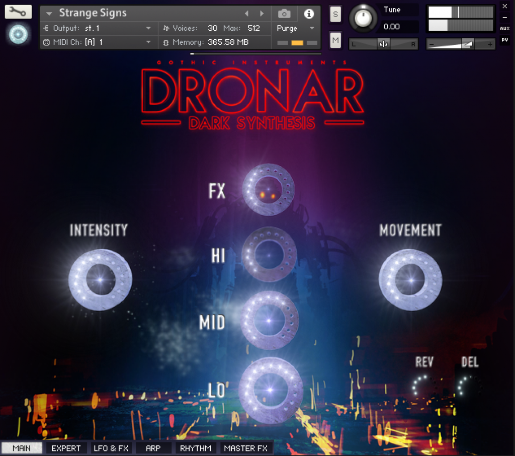 Dronar Dark Synthesis Main