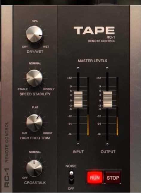 softube tape remote control