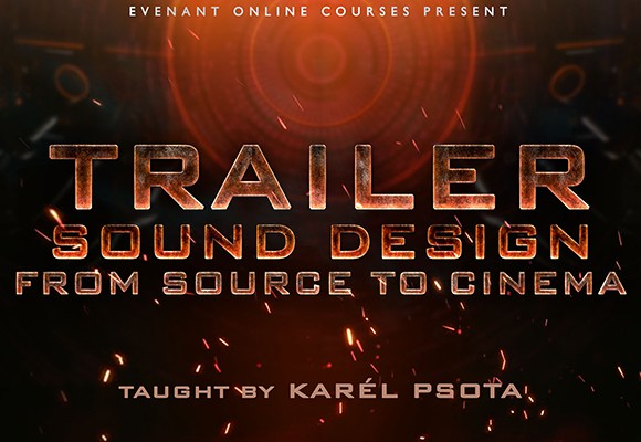 trailer sound design course evenant