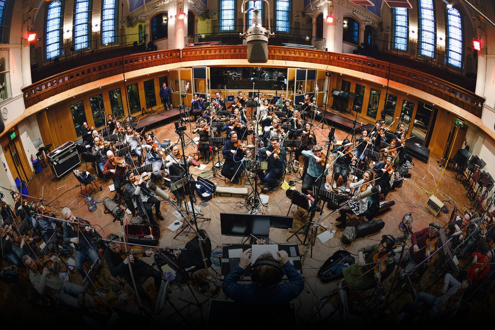 recording string players in air lyndhurst hall for spitfire audio hans zimmer strings