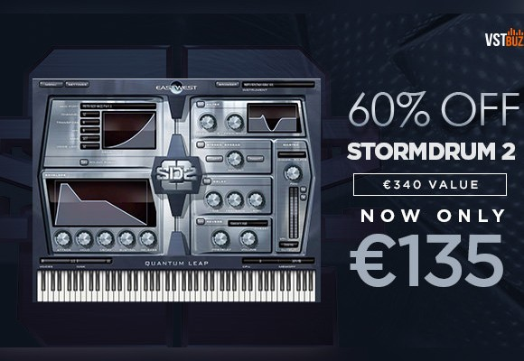 eastwest stormdrum 2 vstbuzz deal