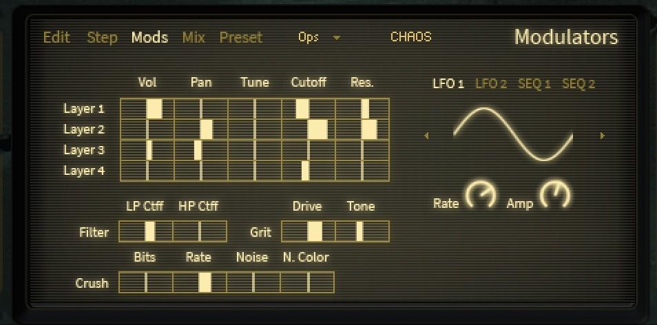 hybrid two project chaos modulation daniel james
