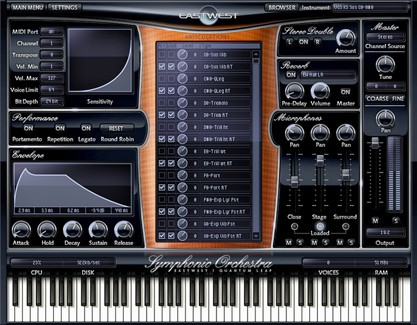 eastwest complete scoring package play engine