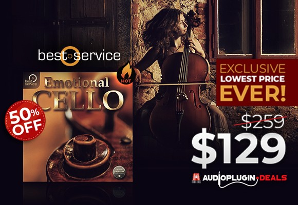 audioplugindeals best service emotional cello deal