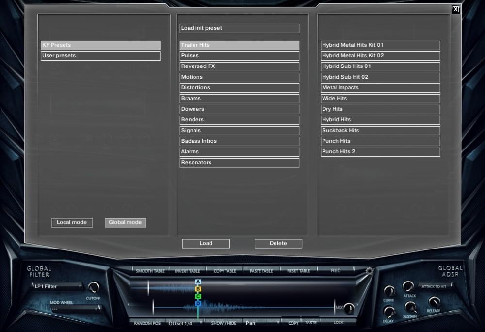 keepforest aizerx hybrid cyberpunk trailer toolkit preset menu