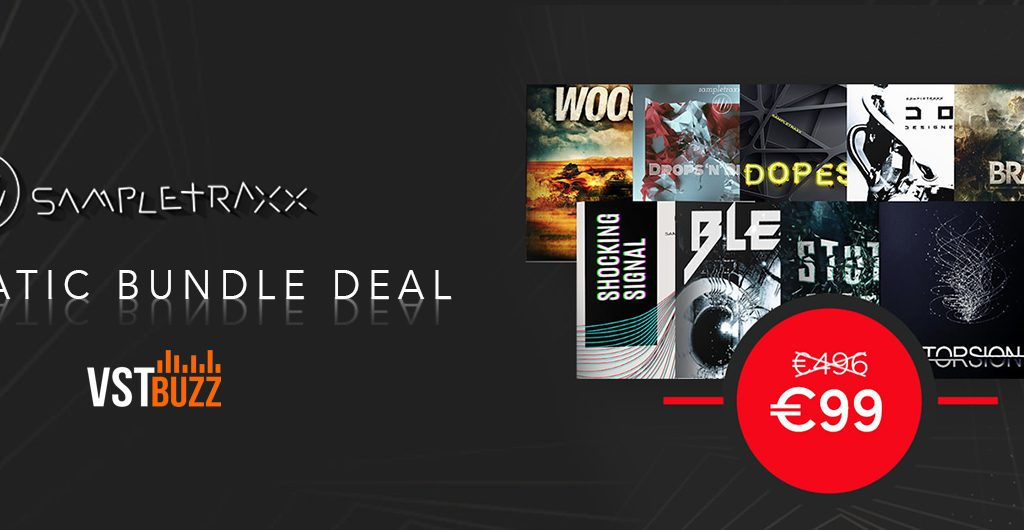 sampletraxx cinematic bundle vstbuzz deal