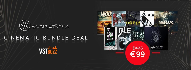 sampletraxx cinematic bundle vstbuzz deal