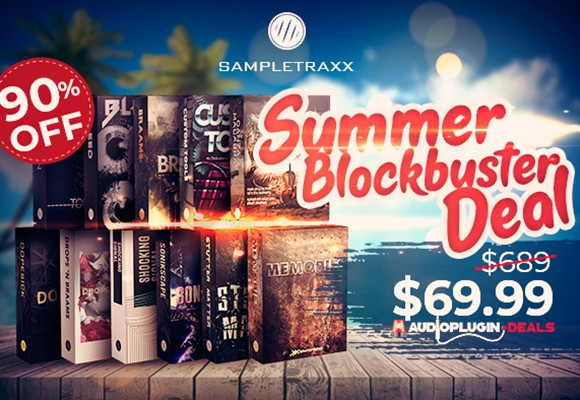 sampletraxx summer blockbuster deal