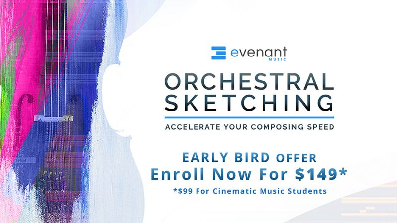 evenant orchestral sketching course