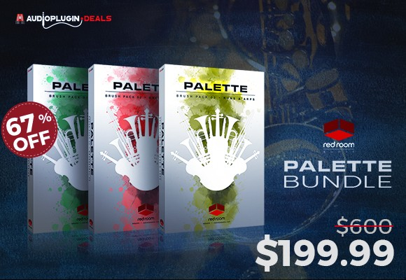 red room audio palette bundle
