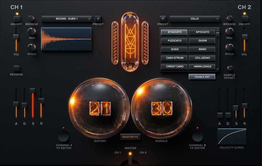 mammoth audio density interface