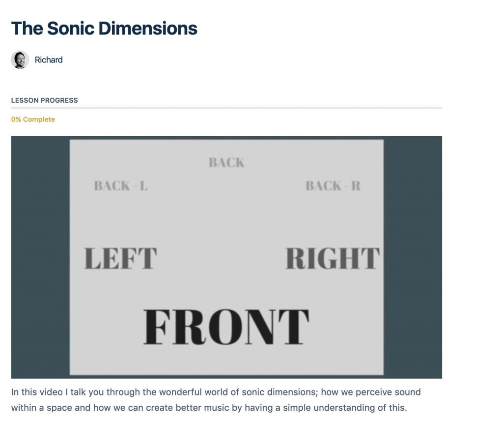 trailer music school sonic dimensions
