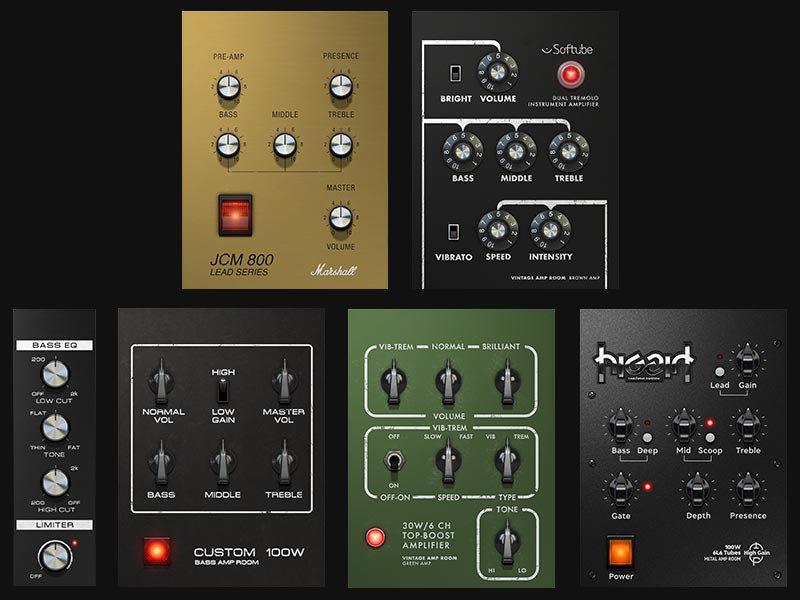 softube amp room amp simulations