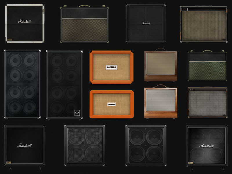 softube amp room cabinets