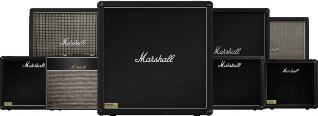 softube amp room marshall cabinets