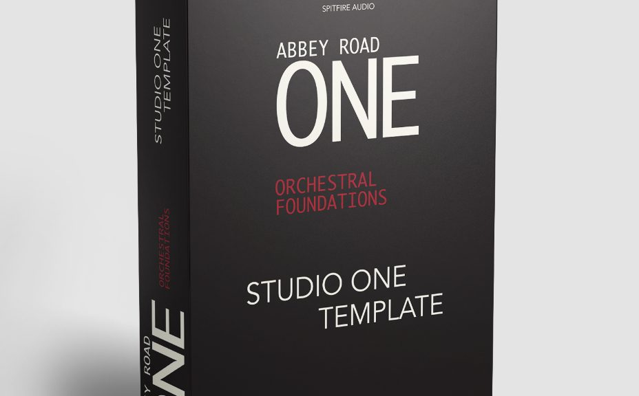 Abbey Road ONE Template Studio One Boxshot