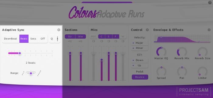 Adaptive Runs project sam adaptive sync