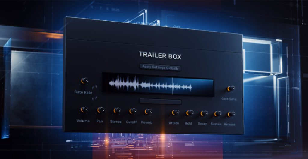 wavelet audio trailer box
